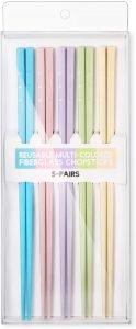 Hiware Reusable Fiberglass Chopsticks