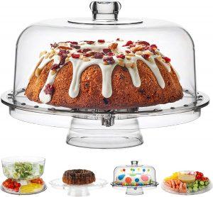 Homeries Acrylic Cake Stand