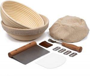Kook Sourdough Bread Proofing Basket