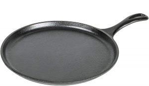 Lodge L9og3 Cast Iron Round Griddle