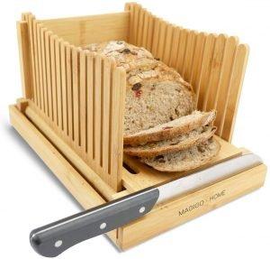 Magigo Bamboo Bread Slicer