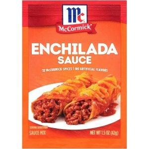 Mccormick Enchilada Sauce