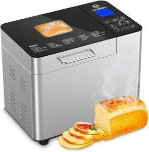Moosoo 25 Feature Stainless Steel Bread Machine