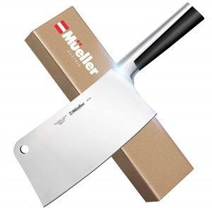 Mueller Professional Butcher Chopper Knife