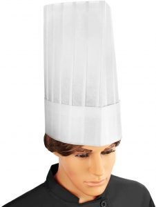 New Star Disposable Flat Chef Hat