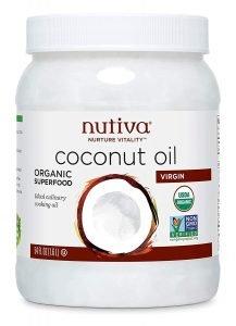 Nutiva Unrefined Organic Virgin Coconut Oil