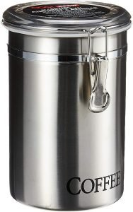 Oggi Stainless Steel Airtight Coffee Canister