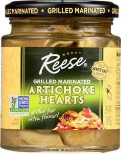 Reese Grilled Marinated Artichokes Hearts