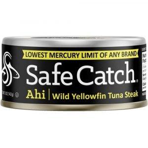 Safe Catch Ahi Solid Wild Yellowfin Tuna