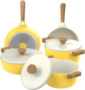 Vremi 8 Piece Cookware Set