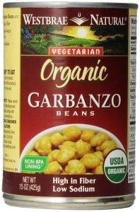 West Brae Natural Garbanzo Beans