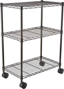 Amazon Basics Heavy Duty 3 Shelf Storage Unit