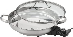 Aroma Housewares Afp 1600s Gourmet Series Electric Skillet