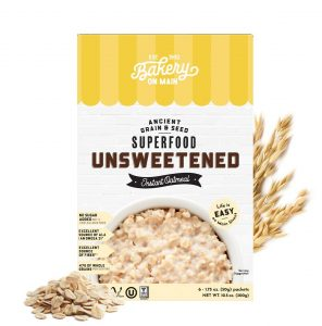 Bakery On Main Unsweetened Instant Oatmeal