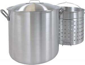 Bayou Classic 8000 80 Quart Aluminium Crab Pot