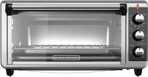 Black+decker 8 Slice Convection Countertop Toaster Oven