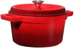 Bruntmor Enameled Cast Iron Casserole Dish