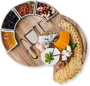 Chefsofi Cheese Serving Platter