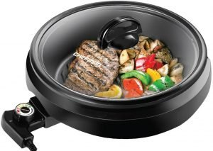 Chefman 3 In 1 Electric Grill, Pot, & Skillet