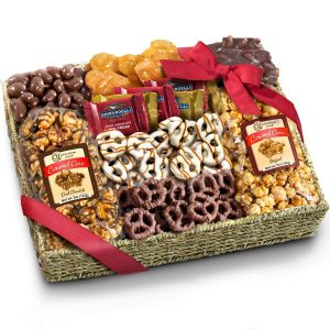 Chocolate Caramel Gift Basket