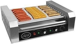 Clevr Commercial Hotdog Roller Cooker