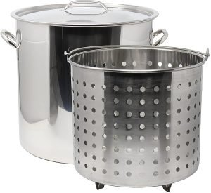 Concord 53 Qt Stainless Steel Crab Pot
