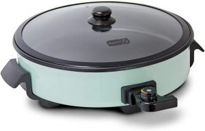 Dash Drg214aq Rapid Heat Electric Skillet