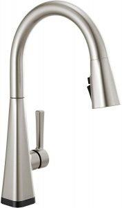 Delta Faucet Lenta Single Handle Touch Kitchen Sink Faucet