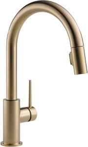 Delta Faucet Trinsic Single Handle Kitchen Sink Faucet