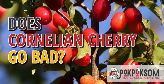 Does Cornelian Cherry Go Bad