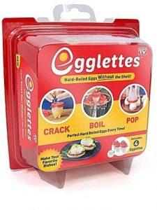 Egglettes 4 Egglettes Egg Cooker (poacher, Boiler, & Steamer)
