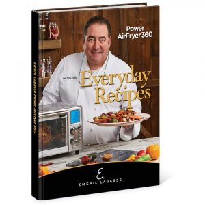 Emeril Lagasse Everyday Recipes For 360 Airfryer Power