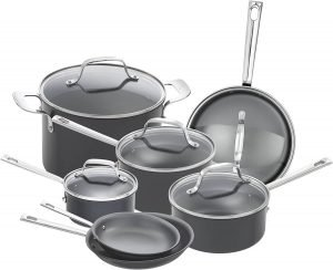 Emeril Lagasse Hard Anodized Cookware Set