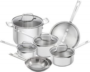 Emeril Lagasse Stainless Steel Cookware Set