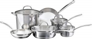 Farberware Millennium Stainless Steel Pots And Pans Set