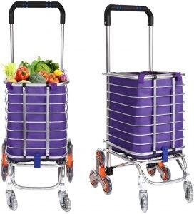 Flyerstoy Folding Grocery Cart