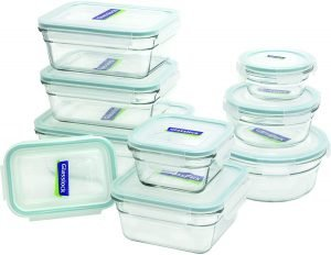 Glasslock 18 Piece Oven Proof Containers