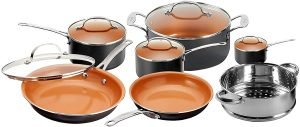 Gotham Steel 12 Piece Copper Kitchen Set