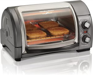 Hamilton Beach 31344d Easy Reach With Roll Top Door Toaster Oven