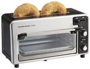 Hamilton Beach Toastation 2 Slice Toaster And Oven Combo