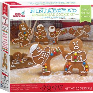 In The Mix Gingerbread Cookie Kit