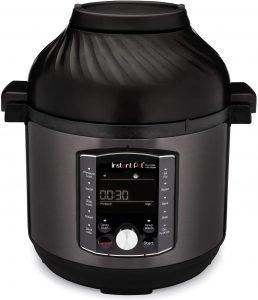 Instant Pot 8 Quart Crisp Pressure Cooker With Air Fryer