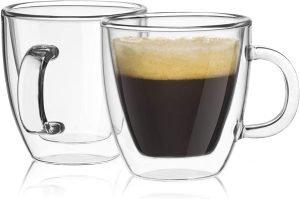 Joyjolt Savor Double Wall Espresso Mugs