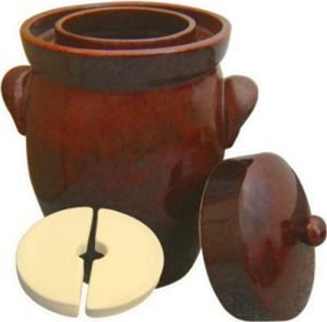 Kerazo 7l Keramik German Made Fermenting Crock Pot