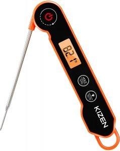 Kizen Waterproof Instant Read Thermometer