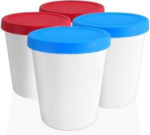 Lin Ice Cream Storage Tubs