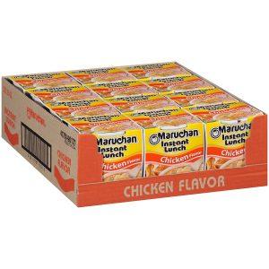 Maruchan Instant Chicken Flavor Ramen