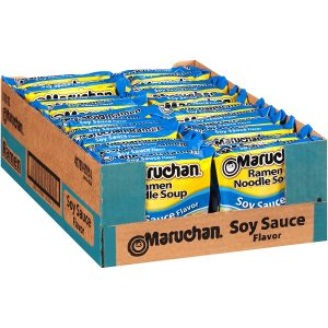 Maruchan Ramen Noodles With Soy Sauce