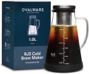 Ovalware Airtight Iced Coffee Maker
