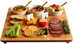 Picnic At Ascot Bamboo Cheese Platter